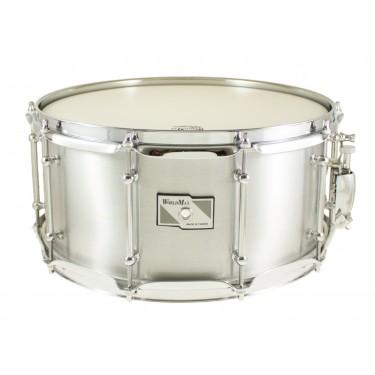 "ALD-6514SH - Aluminum Shell Series 14"" x 6.5"" Snare Drum"