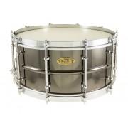 "BK-6514SFX - Black Dawg Vintage 14"" x 6.5"" Snare Drum - Brass Shell"