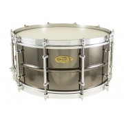 "BK-6514SFX - Black Dawg Vintage 14"" x 6.5"" Snare Drum - Brass Shell"