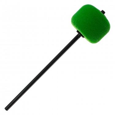 206CKGR - BD Beater - Green Felt - Black Shaft