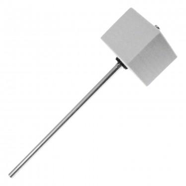 306S - BD Beater - White Square Felt - Chrome Shaft
