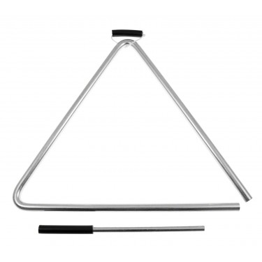 """410 - 10"""" Triangle - High Quality Steel Alloy"""