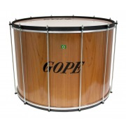 "SU2445WO-HBK - 24"" Wooden Surdo Black Hoops - 45cm Depth"