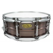 "BKR-5014SH - Black Dawg 14"" x 5"" Snare Drum - Brushed Red Copper Brass Shell"