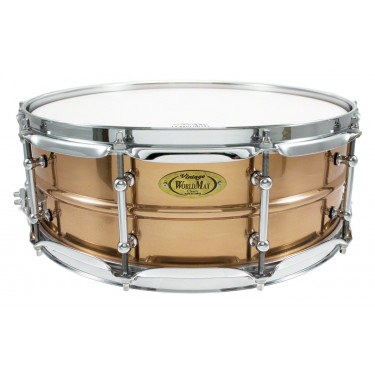 "BZ-5014SH - Bronze Shell Series 14"" x 5"" Snare Drum"