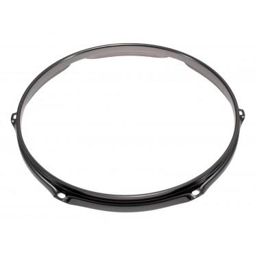 """H23-13-6BK - 13"""" 6 Holes Black 2.3mm Super Triple Flange Drum Hoop"""