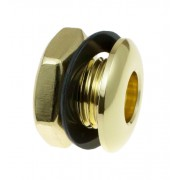 AVH1BR - Die Cast Air Vent Grommet Brass 16mm