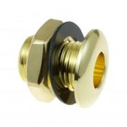 AVH2BR - Die Cast Air Vent Grommet Brass 20mm