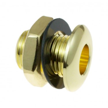 AVH2BR - Die Cast Air Vent Grommet Brass 20mm