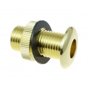 AVH4BR - Die Cast Air Vent Grommet Brass 30mm