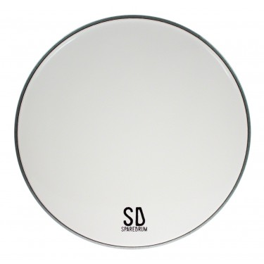 "AS13SW - 13"" Alverstone 1-ply Smooth White Drumhead - 10 mil"
