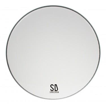 "AS16SW - 16"" Alverstone 1-ply Smooth White Drumhead - 10 mil"