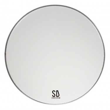 "AS18SW-B - 18"" Alverstone Smooth White BD Head - 1-ply - 10 mil"