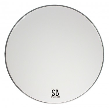 "AS24SW-B - 24"" Alverstone Smooth White BD Head - 1-ply - 10 mil"