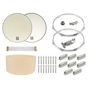 "DIY Set - Build Your 14""x6.5"" Maple Snare Drum"