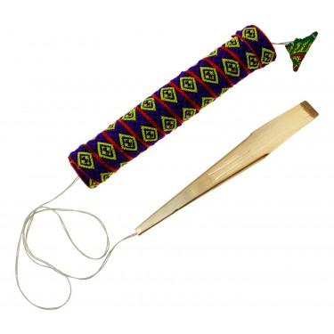 Brass Double H'Mong Danmoi Jew's Harp - Vietnam