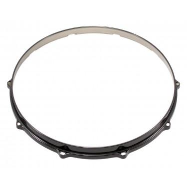 """HDC3-14-10BK - 14"""" 10 Holes Black 3mm Die Cast Drum Hoop"""