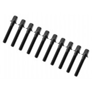 "TRC-28-BK - 28mm Tension Rod Black - 7/32"" Thread (x10)"