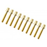 "TRC-28-BR - 28mm Tension Rod Brass - 7/32"" Thread (x10)"