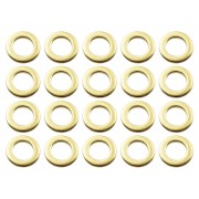 SW-BR - Steel Washer for Tension Rods - Brass (x20)