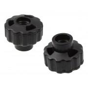 CNP8 - M8 Plastic Wing Nut / Screw (x2)