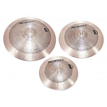 3x Cymbal Set 14-16-20 Samet - B20 Bronze