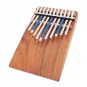 Kalimba Junior Celeste Pentatonic 11 Notes Board-Resonator + Pickup