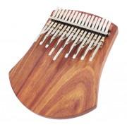 Karimba Trademark African-Tuned 17 Notes Board-Resonator