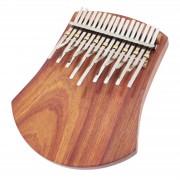 Karimba Trademark African-Tuned 17 Notes Board-Resonator + Pickup
