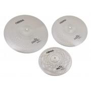 "Mute 3x Silent Cymbals Set - 14"" 16"" 20"""