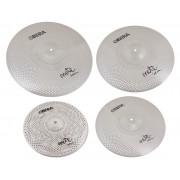 "Mute 4x Silent Cymbals Set - 14"" 16"" 18"" 20"""