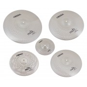 "Mute 5x Silent Cymbals Set - 14"" 16"" 18"" 20"" 10"""