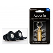 Pro Acoustic 15 - Flat Damping Filters - Protection SNR 15dB