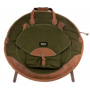 "22"" Backpack Cymbal Case - Forest Green"