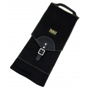 Waxed Canvas Compact Stick Case - Black