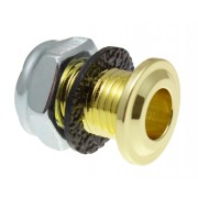 AVH8BR - Die Cast Air Vent Grommet Brass 16mm