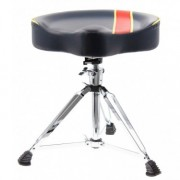 DTHS1-BSR - Pro Drum Throne Saddle Shaped Double-Braced Legs - Navy Blue