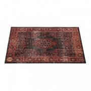VP130-RBL - Vintage Persian Stage / Drum Mat 1.30 x 0.90m Anti-Slip - Black Red
