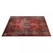 VP185-ORD - Vintage Persian Stage / Drum Mat 1.85 x 1.60m Anti-Slip - Original Red