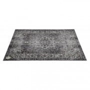 VP185-GRY - Vintage Persian Stage / Drum Mat 1.85 x 1.60m Anti-Slip - Grey
